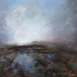 'In Early Autumn' / 'Tidlig på høsten', 40 x 40 cm, akryl på lerret, 2016, Kr 3500,-